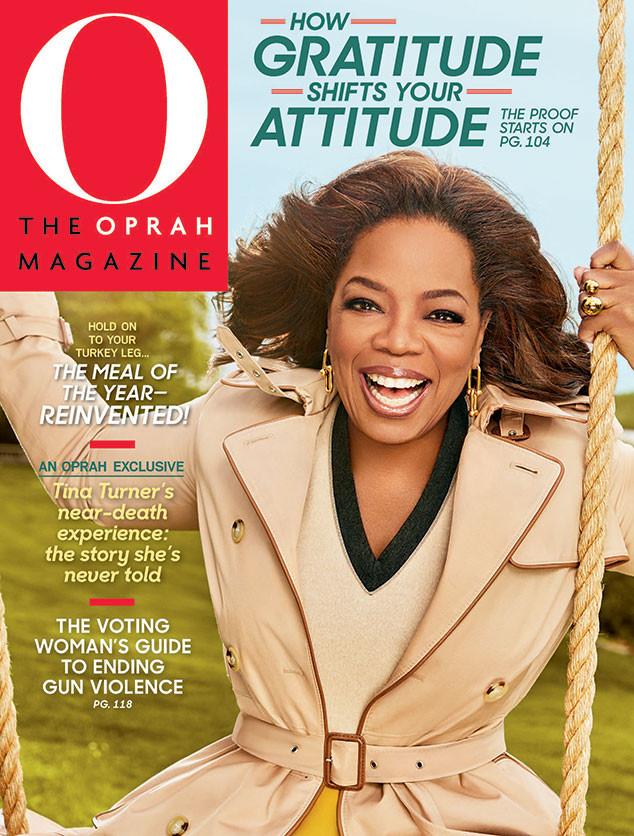 Oprah Winfrey, Oprah Magazine, November 2018