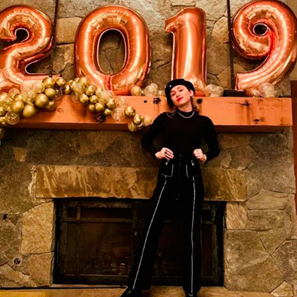 Miley Cyrus, New Year's Eve 2018
