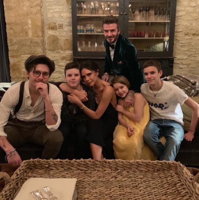 Beckham Family, New Year's