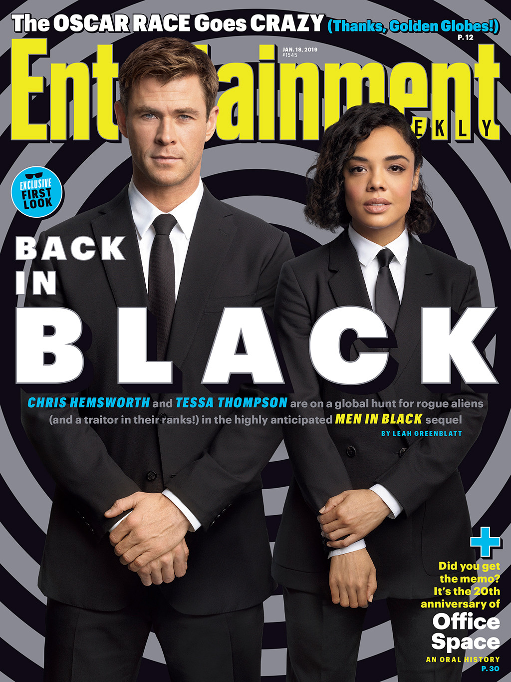 Chris Hemsworth, Tessa Thompson, Entertainment Weekly