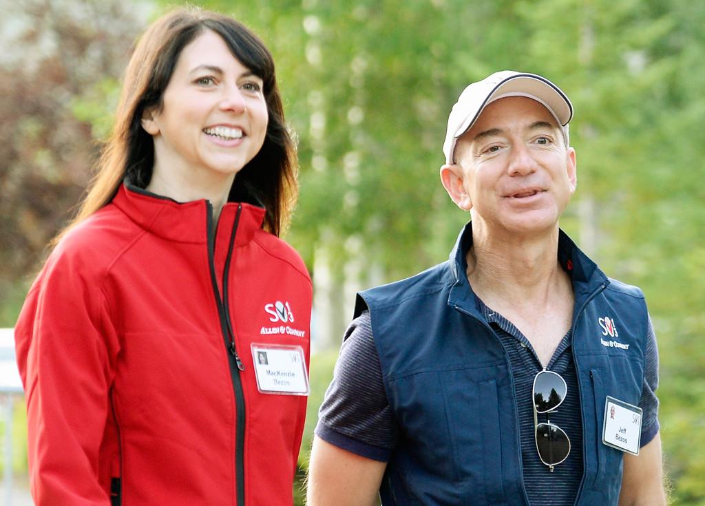 Jeff Bezos, Mackenzie Bezos, 2013
