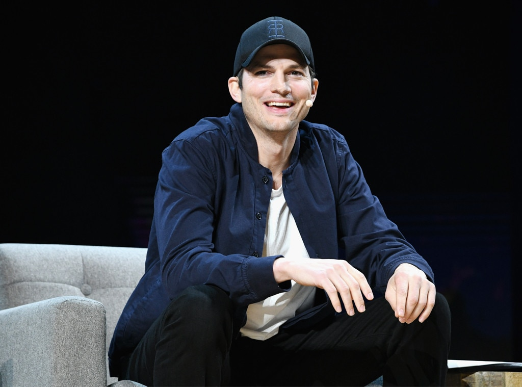 Ashton Kutcher tweeted his real phone number so fans can text him