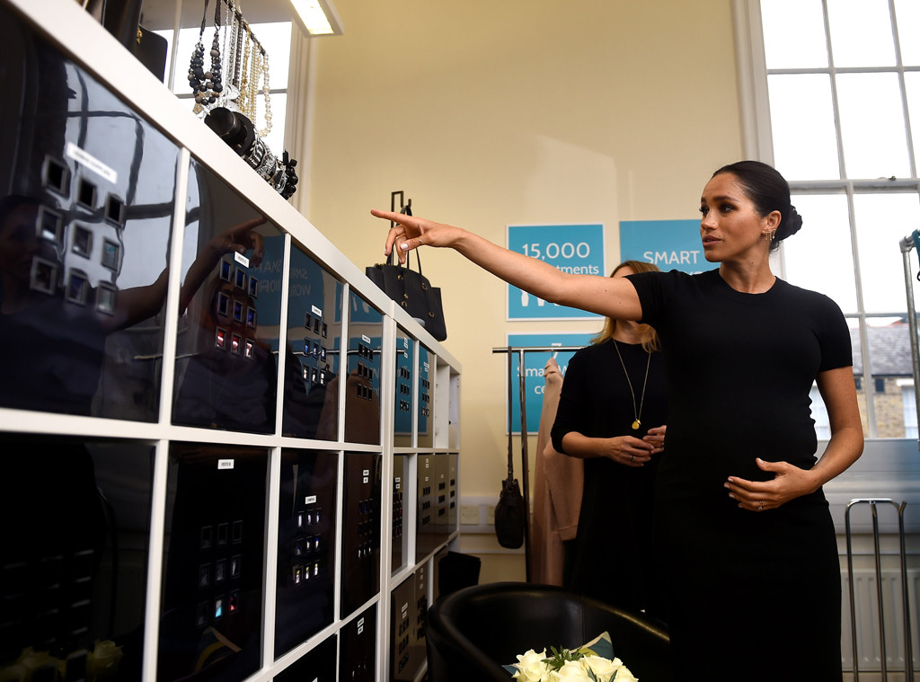 Meghan Markle, Smart Works Visit