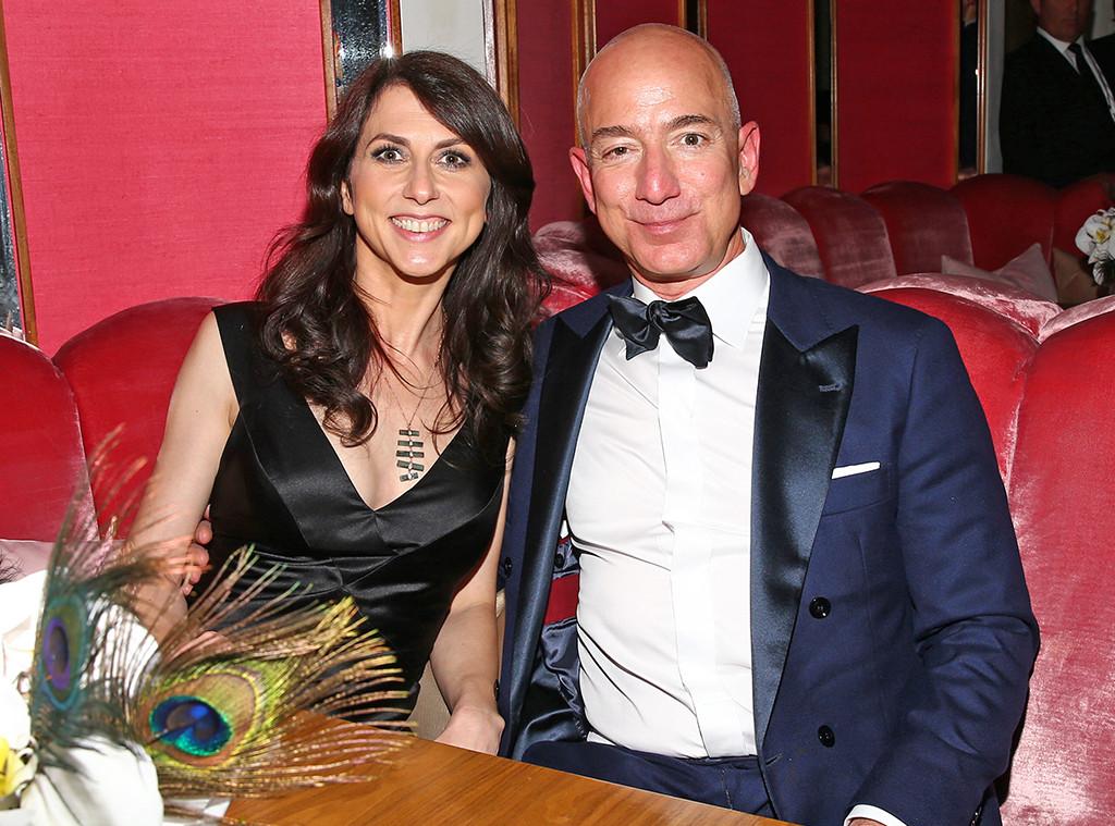 Jeff Bezos, Mackenzie Bezos, 2017