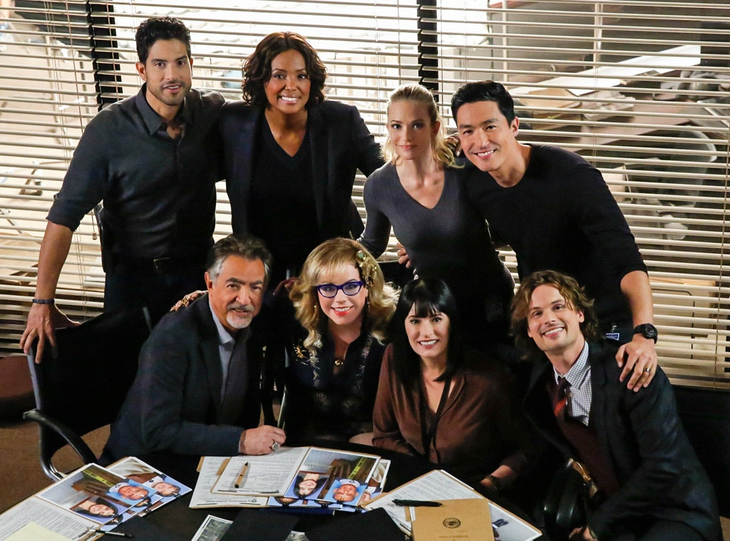 Criminal Minds AJ Cook Joe Mantegna Kirsten Vangsness Paget Brewster Matthew Gray Gubler