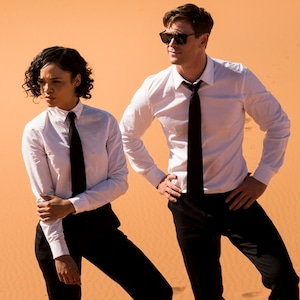 Tessa Thompson, Chris Hemsworth, Men in Black International