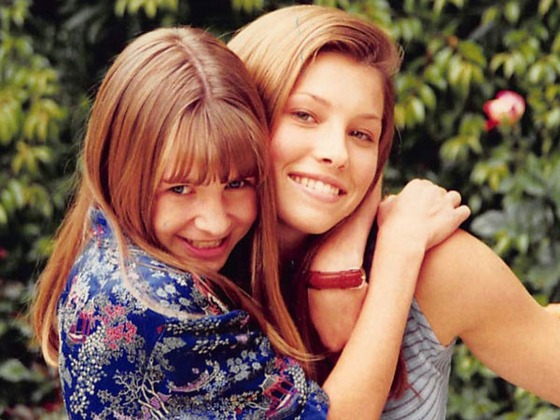 BFFs Made in (7th) Heaven: See Birthday Girl Beverley Mitchell & Bestie Jessica Biel's Cutest Pics
