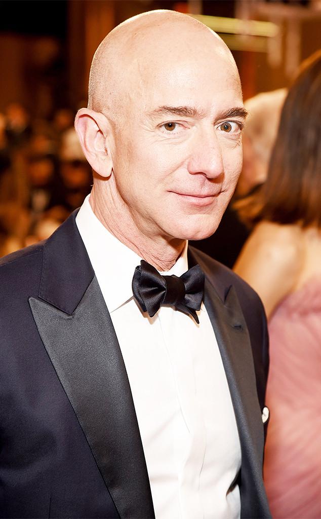 Jeff Bezos, 2019 Golden Globe Awards