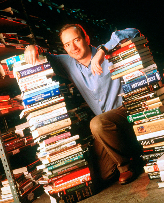 Jeff Bezos, Amazon Portrait, 1997