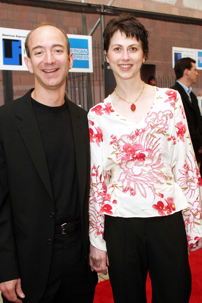 Jeff Bezos, Mackenzie Bezos, 2003