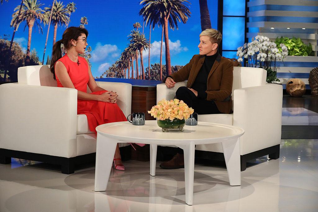 Sarah Hyland, Ellen DeGeneres