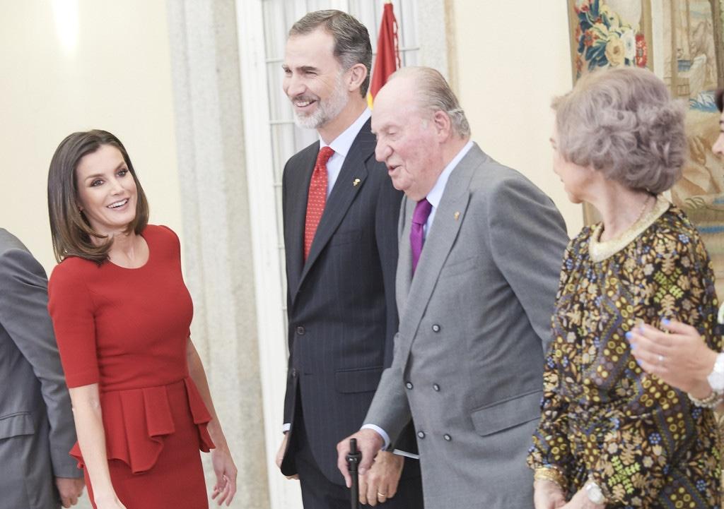 Reina Letizia, reina sofia, rey felipe, rey juan carlos