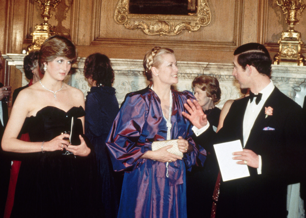 Princess Diana, Prince Charles, Princess Grace Kelly, Monaco Royals