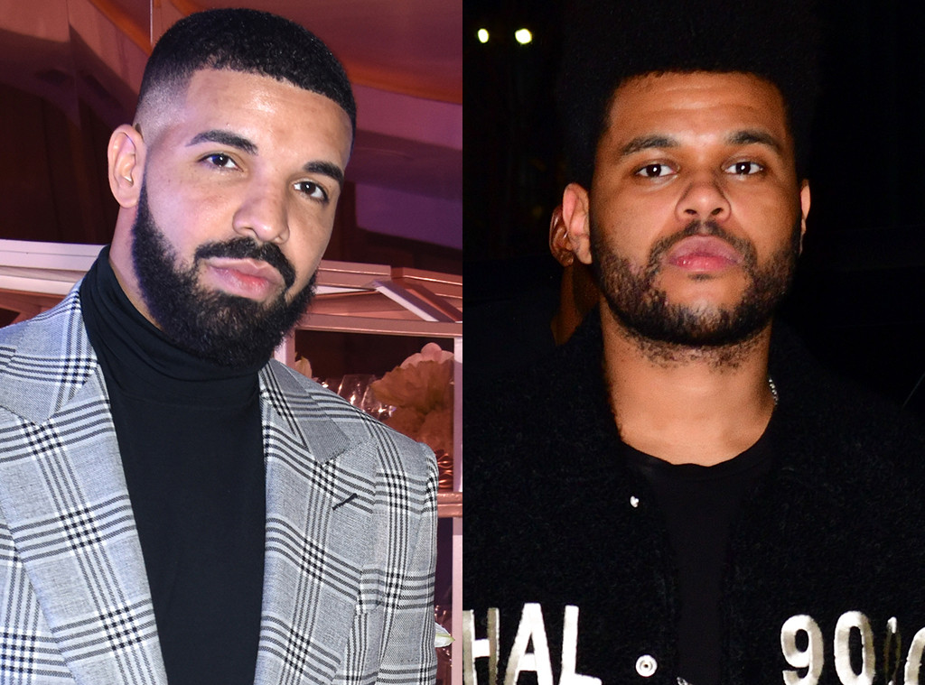 Drake, The Weeknd, Abel Tesfaye