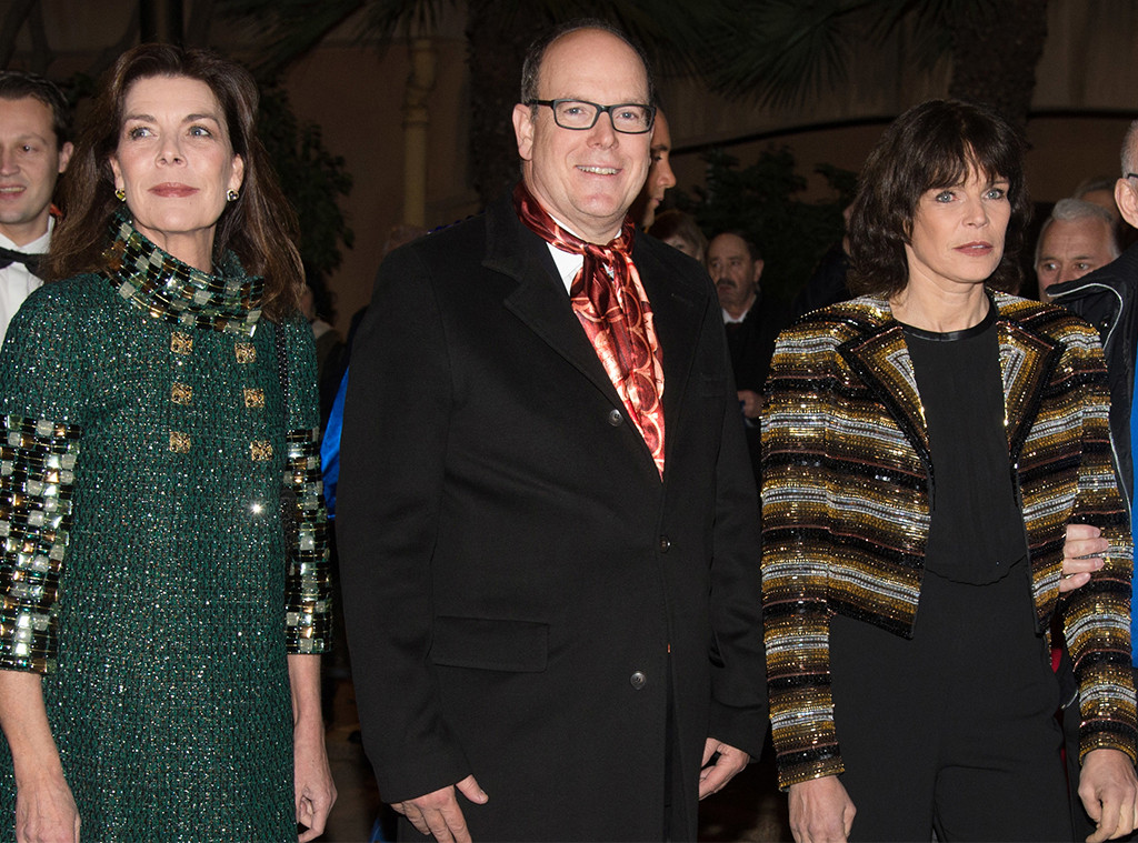 Princess Caroline, Prince Albert II, Princess Stephanie, Monaco Royals