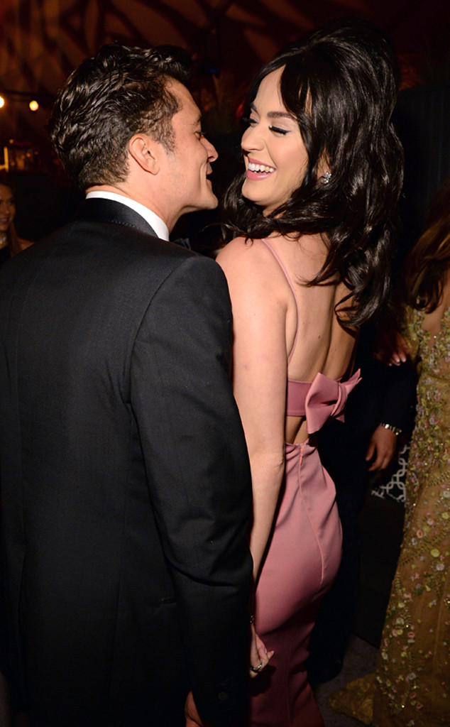 Katy Perry, Orlando Bloom, 2016 Golden Globes After Party