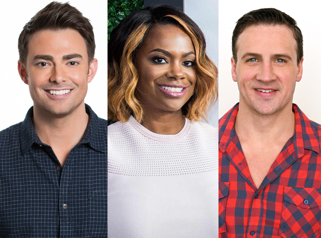 Kandi Burruss, Celebrity Big Brother Season 2 Cast, Ryan Lochte, Jonathan Bennett