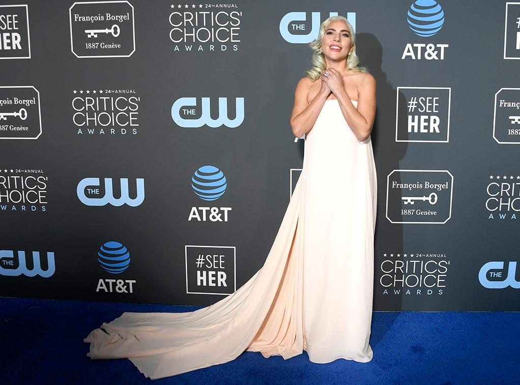 Lady Gaga, 2019 Critics Choice Awards