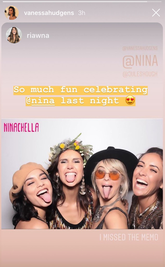 Nina Dobrev, Birthday Party