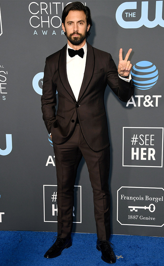 Milo Ventimiglia, 2019 Critics Choice Awards
