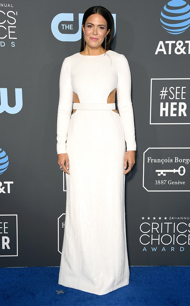 Mandy Moore, 2019 Critics Choice Awards