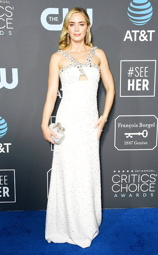 Emily Blunt, 2019 Critics Choice Awards
