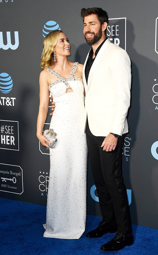 Emily Blunt, John Krasinski, 2019 Critics Choice Awards