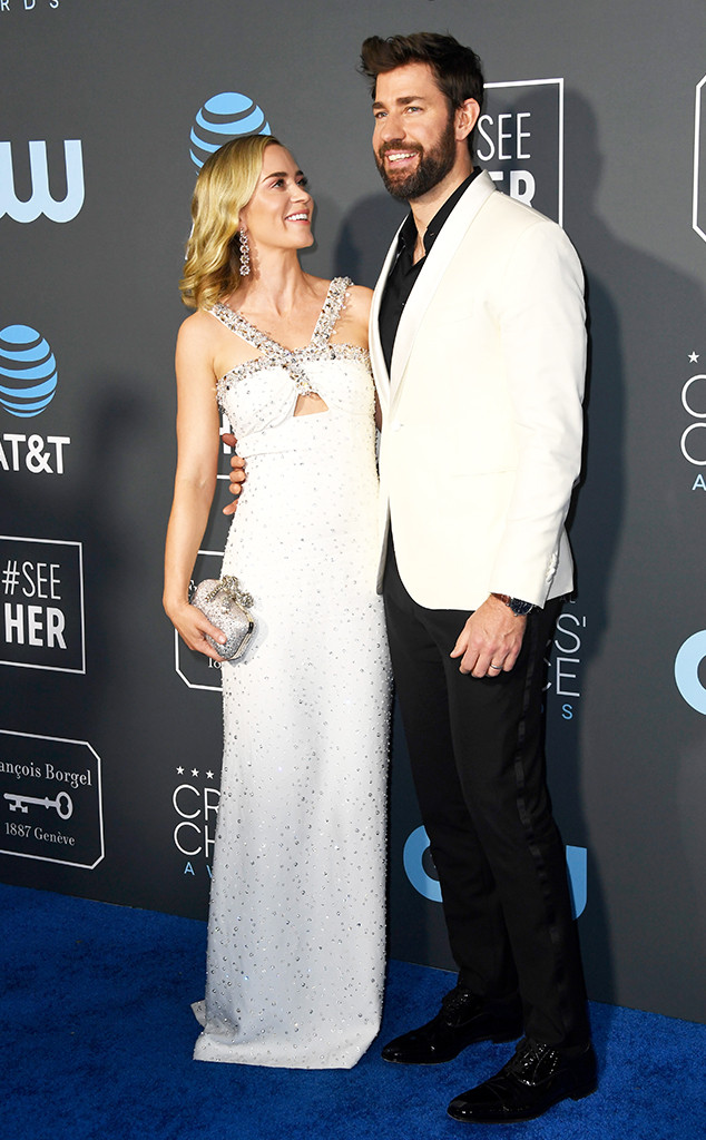 Emily Blunt, John Krasinski, 2019 Critics Choice Awards