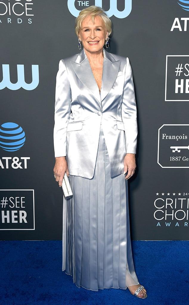 Glenn Close, 2019 Critics Choice Awards