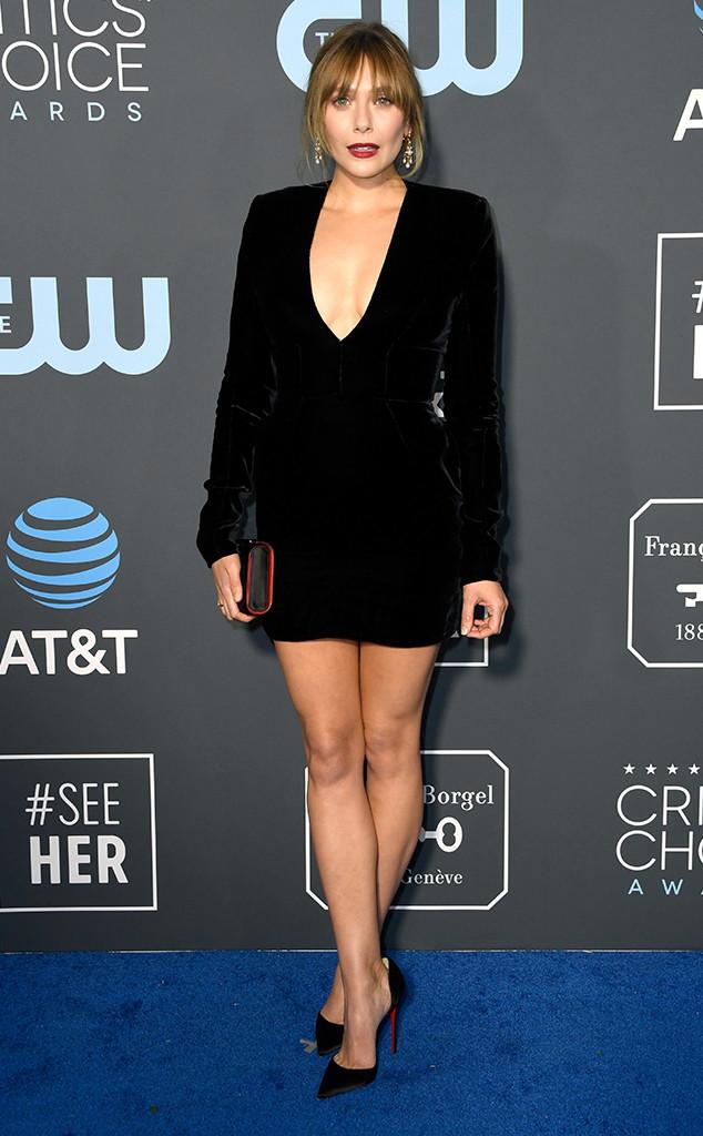 Elizabeth Olsen, 2019 Critics Choice Awards