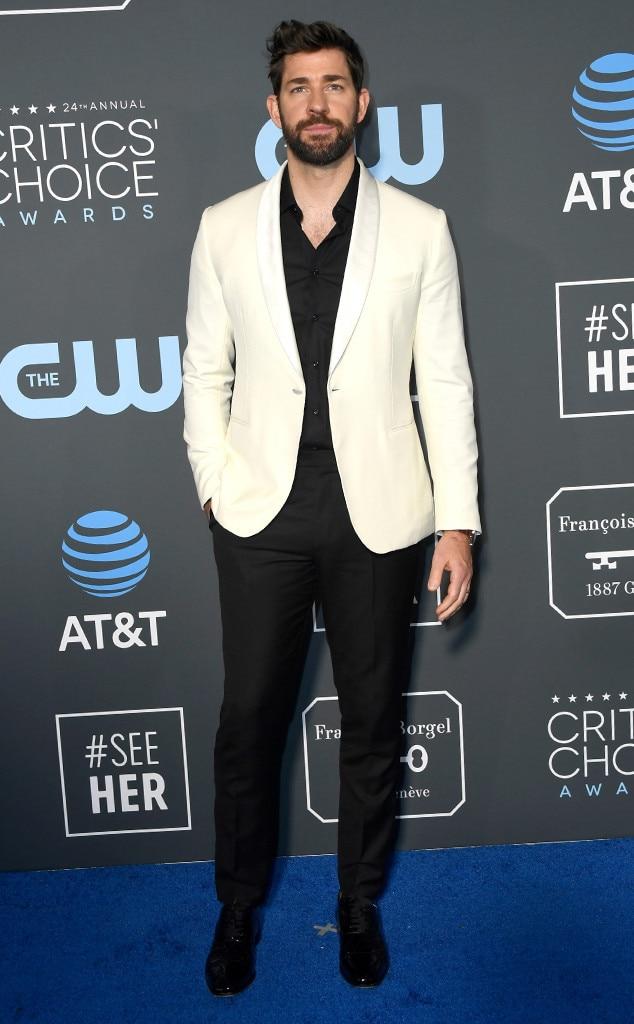 John Krasinski, 2019 Critics Choice Awards