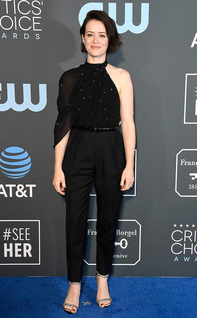Claire Foy, 2019 Critics Choice Awards