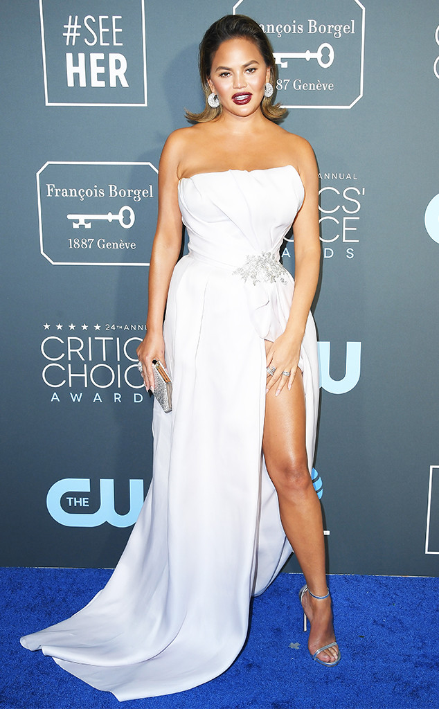 Chrissy Teigen, 2019 Critics Choice Awards