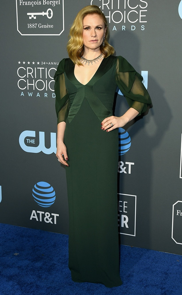 Anna Paquin, 2019 Critics Choice Awards
