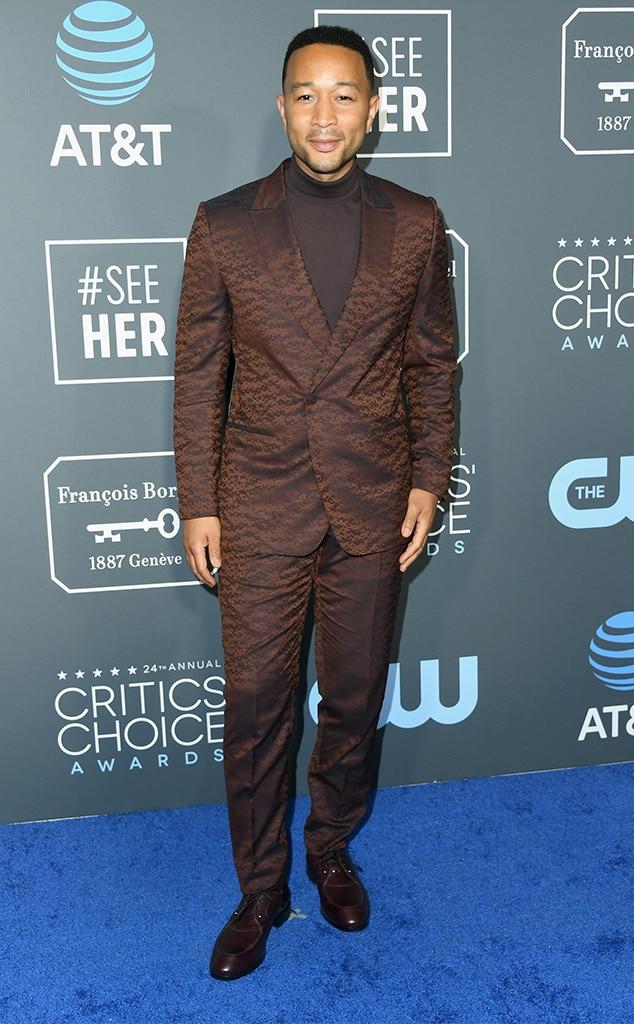 John Legend, 2019 Critics Choice Awards