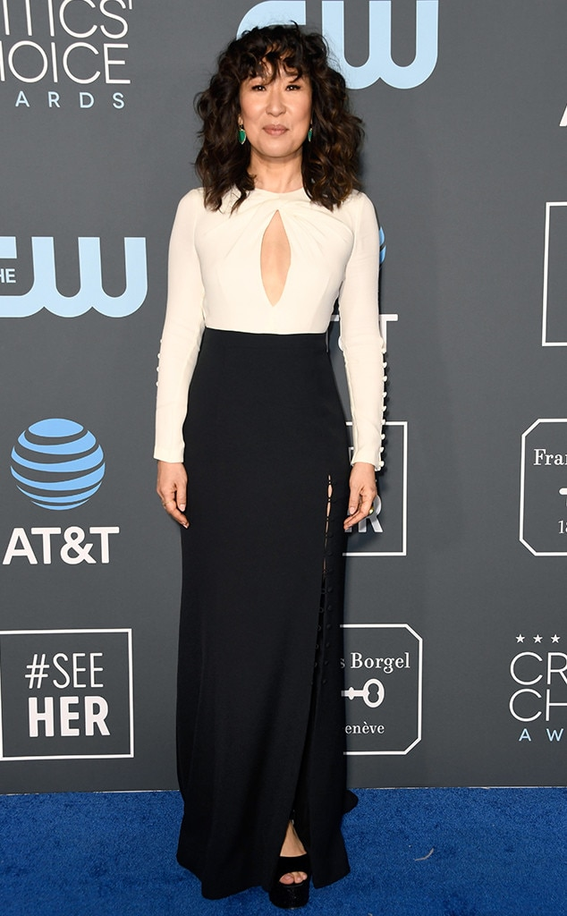 Sandra Oh, 2019 Critics Choice Awards