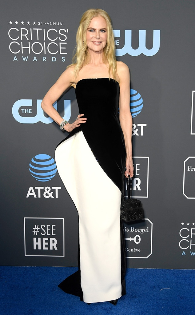 Nicole Kidman, 2019 Critics Choice Awards