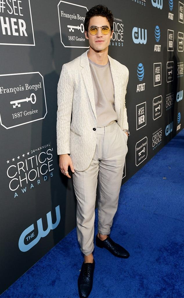 Darren Criss, 2019 Critics Choice Awards