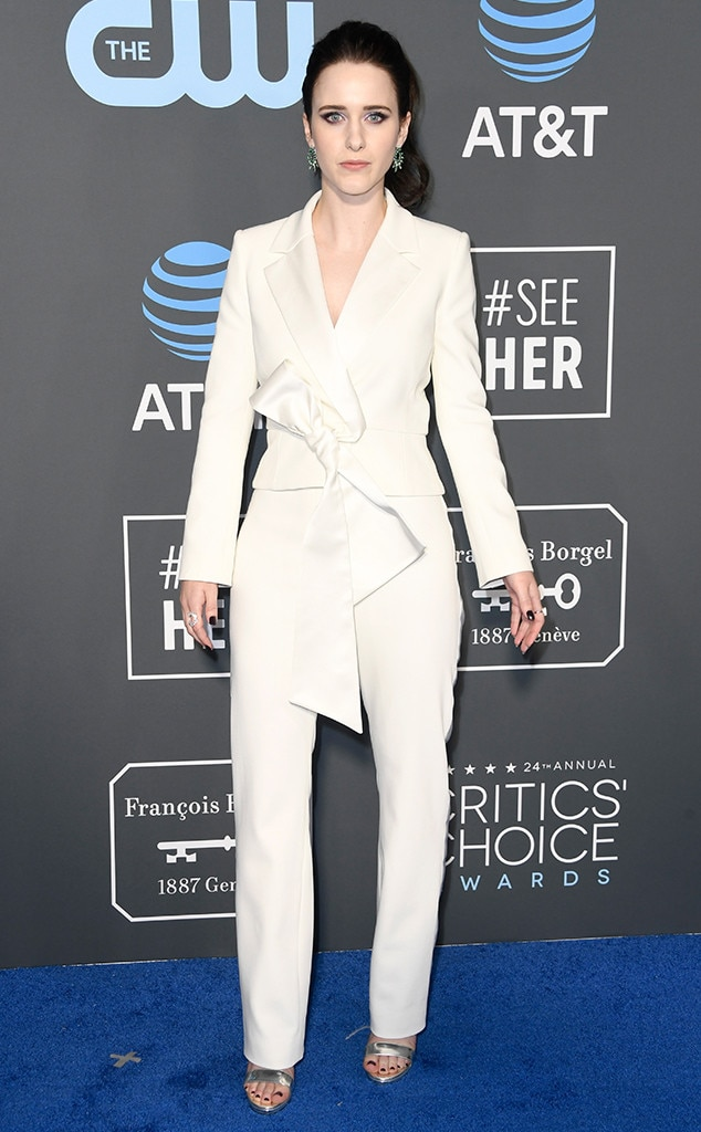 Rachel Brosnahan, 2019 Critics Choice Awards