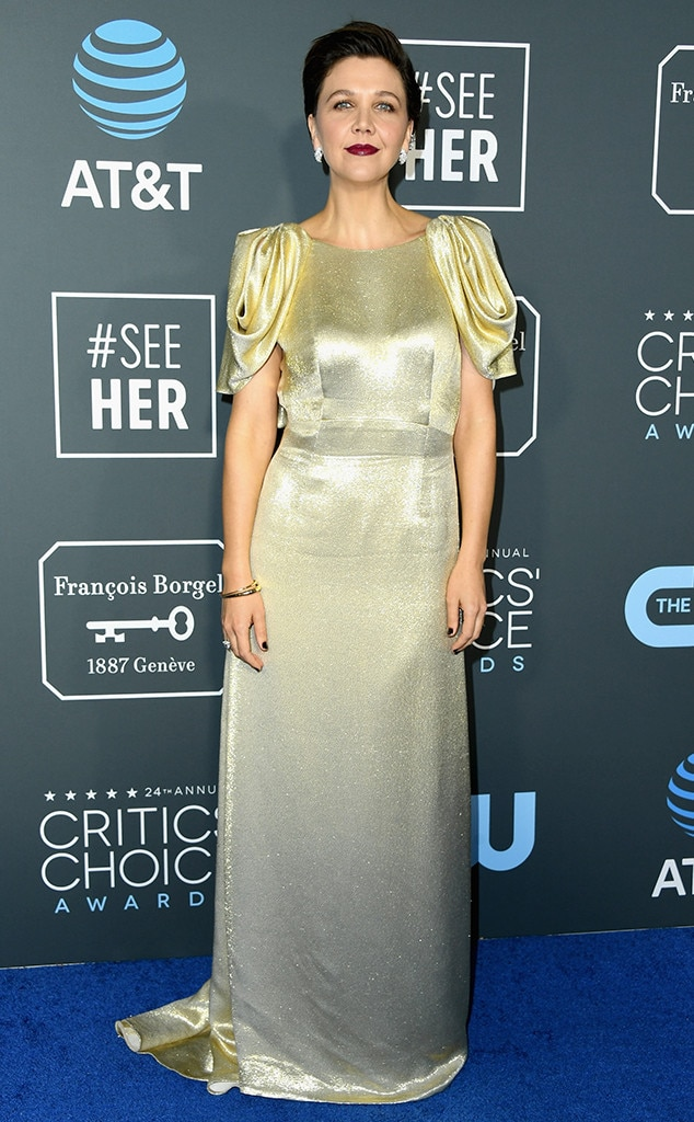 Maggie Gyllenhaal, 2019 Critics Choice Awards