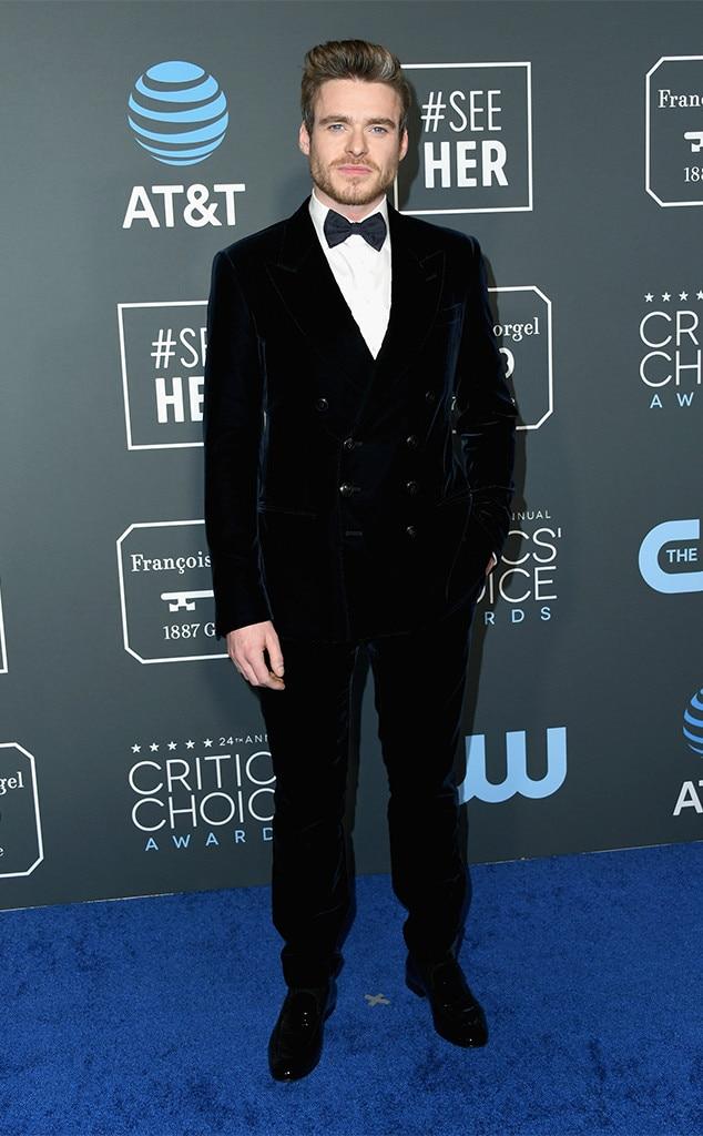 Richard Madden, 2019 Critics Choice Awards