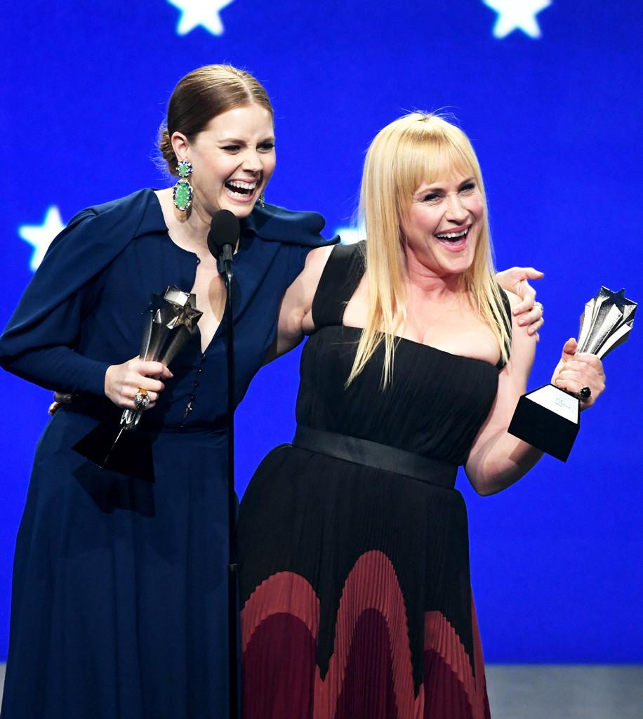 Amy Adams, Patricia Arquette, 2019 Critics Desire Awards, Display camouflage