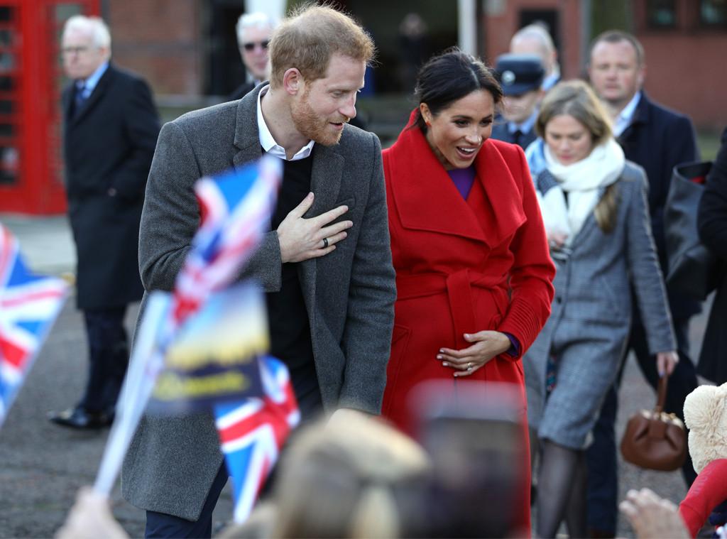 Prince Harry, Meghan Markle, Birkenhead Visit
