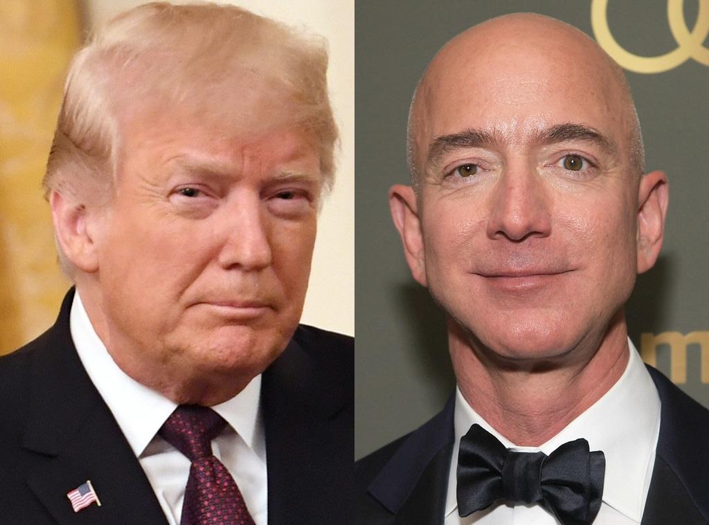 Donald Trump, Jeff Bezos