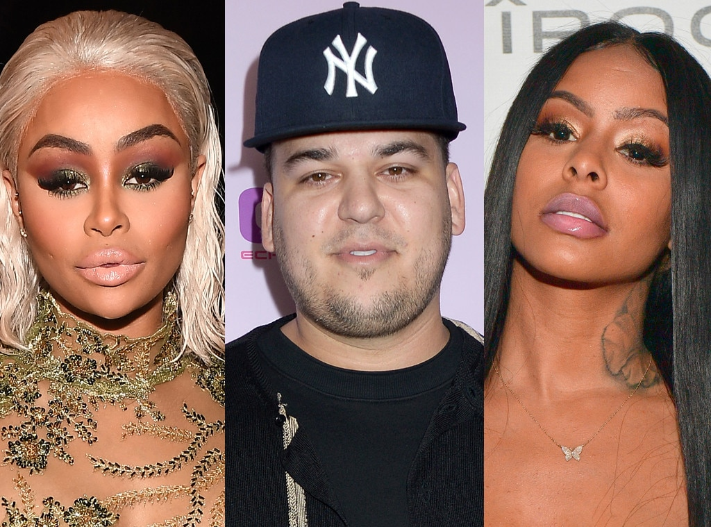 Is Rob Kardashian Getting Close With Blac Chyna's Alleged Enemy?