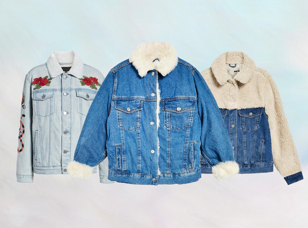 E-Comm: Demin Jackets to Keep You Warm