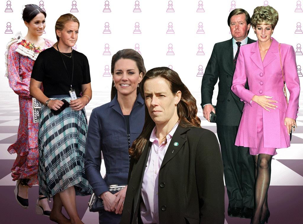 Royal Bodyguards, Meghan Markle, Princess Diana, Kate Middleton