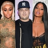 Rob Kardashian, Blac Chyna, Alexis Skyy
