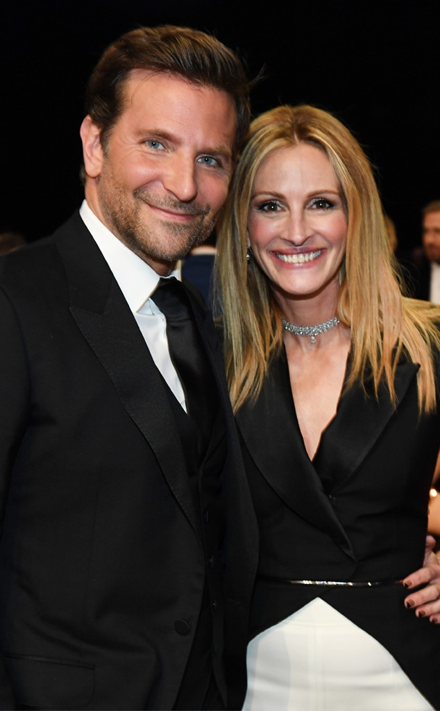 Bradley Cooper, Julia Roberts, 2019 Critics' Choice Awards