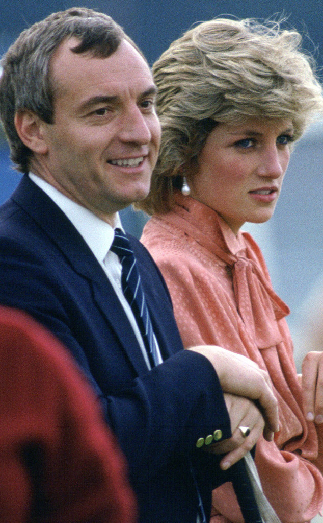 Princess Diana, Barry Mannakee